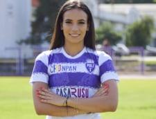 Unde va juca cea mai frumoasa fotbalista din nationala Romaniei