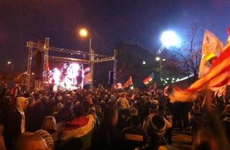 Ungaria - Romania: Nebunie la stadionul din Budapesta!