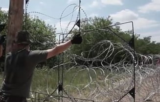 Ungaria a terminat de construit gardul de sarma ghimpata impotriva imigrantilor