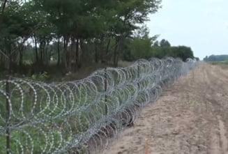 Ungaria a terminat gardul de la granita cu Croatia in mai putin de o zi