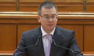 Ungureanu, atac la Ponta: Romania nu e magazin pe care-l inchizi si pleci in Dubai