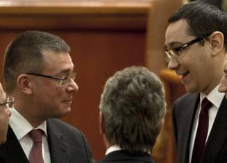 Ungureanu si Ponta, egalitate in topul increderii - sondaj CSOP