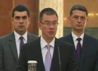 Ungureanu si-a prezentat bilantul: Am facut in 2 luni cat altii in ani
