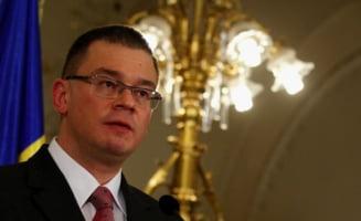 Ungureanu va participa sambata la ceremoniile de predare-primire a mandatelor de ministri