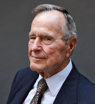 Ungurii ii fac statuie lui George Bush Sr. la Budapesta
