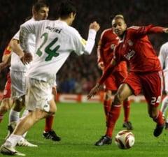 Unirea Urziceni, eliminata de Liverpool din Europa League