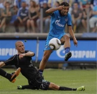 Unirea Urziceni a fost invinsa de Zenit si eliminata din Liga Campionilor