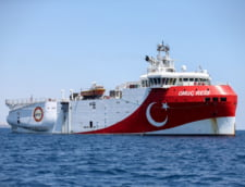 Uniunea Europeana cere plecarea navei turce Yavuz din zona maritima a Ciprului