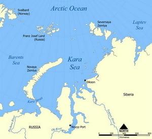 Uniunea Sovietica a aruncat deseuri nucleare enorme in Oceanul Arctic