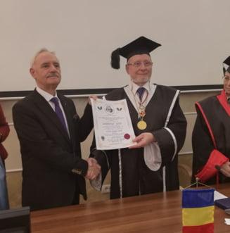 Universitatea 'Andrei Saguna' ii acorda titlul de DOCTOR HONORIS CAUSA profesorului universitar doctor Laurentiu Soitu!