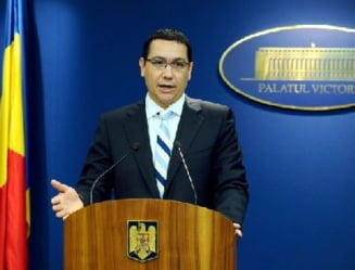 Universitatea Bucuresti: Victor Ponta a plagiat texte si idei