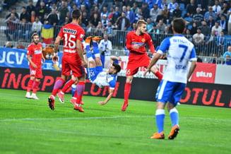 Universitatea Craiova invinge FCSB dupa 16 ani