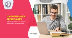 Universitatea Spiru Haret a introdus in Romania cea mai puternica platforma de E-learning din lume, inca din 2006
