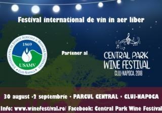 Universitatea de Stiinte Agricole si Medicina Veterinara din Cluj-Napoca, partener al Central Park Wine Festival