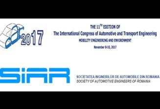 Universitatea din Pitesti gazduieste a XI-a editie a Congresului International de Ingineria Transportului si Automobilului - CAR 2017