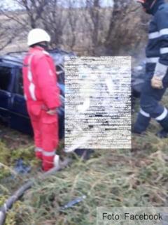 Update. BRASOV. Noi imagini de la tragicul accident produs pe DN 13 Brasov - Feldioara