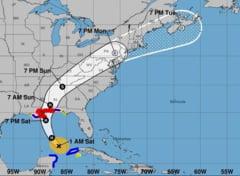 Uraganul Nate a lovit coasta sudica a Statelor Unite