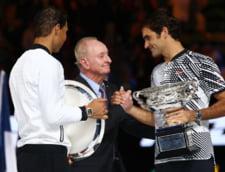 Urcari importante pentru Roger Federer si Rafa Nadal dupa Australian Open. Cum arata noul top 10 ATP