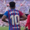 Urmașul lui Messi la FC Barcelona a lovit năucitor! Gol splendid la primul meci jucat după 10 luni de pauză VIDEO