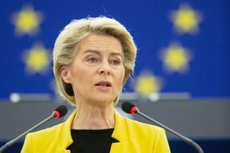 Ursula von der Leyen vine la București pe 27 septembrie, după congresul PNL. Vizita, în contextul aprobării PNRR