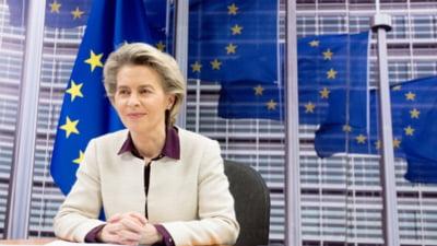 Ursula von der Leyen vine luni România pentru a prezenta evaluarea PNRR. Șefa CE se va întâlni cu Klaus Iohannis și Florin Cîțu
