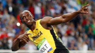 Usain Bolt si-a botezat copiii Tunet si Fulger
