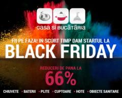 Utileaza-ti bucataria de Black Friday cu reduceri de pana la -66% oferite de Casa si Bucataria