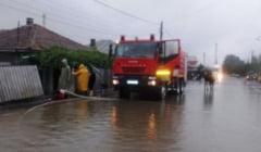 VALCEA sub COD PORTOCALIU de inundatii. Prefectura convoaca Grupul de Suport Tehnic pentru Situatii de Urgenta