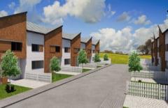 VIDEO - Cel mai fain proiect imobiliar din zona Sibiului. Case de tip englezesc la Happy City