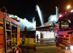 VIDEO - FOTO Incendiul de la cea mai cunoscuta pizzerie din Sibiu. ISU a stabilit cauza