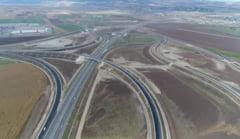 VIDEO - Noi imagini cu tronsonul 4 al autostrazii Turda-Sebes!