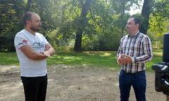 """VIDEO - Scandalul proiectului imobiliar din Padurea Dumbrava. Adi Bibu: """"Am o usoara dezamagire fata de doamna primar Fodor"""""""