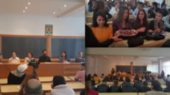 """VIDEO: """"Viitorul iti apartine!"""", un simpozion interesant organizat de Arhiepiscopia Ramnicului, ISJ Valcea si Universitatea Constantin Brancoveanu"""