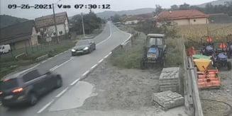 VIDEO: Accident in Sangeorgiu de Padure
