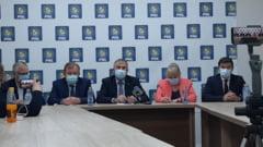 VIDEO: Alianta anti-PSD in Consiliul Judetean Bacau. 6 partide ii sustin pe Valerian Vreme si Cosmin Necula