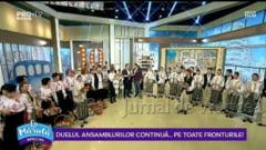"VIDEO: Ansamblul Raspodia Vultureana din Vulturu, in platoul emisiunii ""La Maruta"" de la Pro TV"