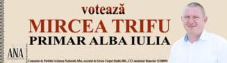 VIDEO| Asfaltari la Alba Iulia Nord pentru o noua deviere a traficului de pe DN 1, din cauza lucrarilor la autostrada A10 Sebes-Turda