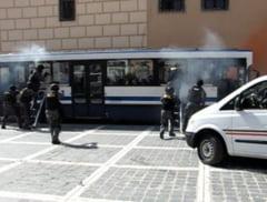 "VIDEO ""Atac terorist"" in Piata Sfatului"