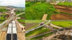 """VIDEO/ Autostrada Sebes-Turda: """"Nodurile Gordiene"""" care fac IMPOSIBILA deschiderea circulatiei pe Lotul 1, pana la finalul anului 2019"""