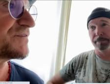 """VIDEO. Bono si The Edge, versiune """"Stairway to Heaven"""" in sprijinul echipelor tehnice irlandeze"""