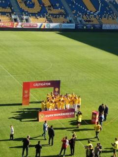 VIDEO. CFR Cluj a castigat Cupa Romaniei la U-19! Pustii lui Mugurel Dan au rapus Viitorul