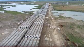 VIDEO: Centura Bacaului. Cum arata podul peste Bistrita