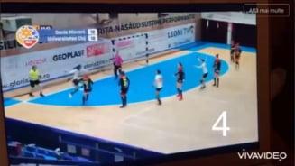 """VIDEO. Conducerea lui """"U"""" Cluj publicat toate greselile de arbitraj din meciul cu CS Mioveni"""