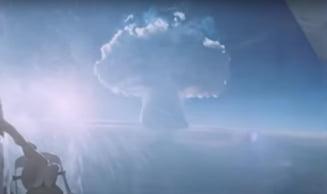 """VIDEO. Declasificarea unui documentar sovietic despre detonarea """"Tar bomba"""", cea mai puternica arma termonucleara construita vreodata"""