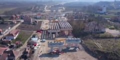 VIDEO, FOTO: Imagini cu stadiul lucrarilor la tronsonul de autostrada Chetani - Iernut!