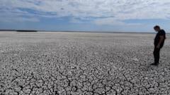 VIDEO. Imagini cutremuratoare. Cum a secat un lac de peste 850 de hectare din judetul Constanta, aflat in Rezervatia Biosferei Delta Dunarii