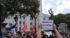 """VIDEO """"Putin, bea niste ceai!"""" Mesaj puternic pentru liderul rus, din partea protestatarilor din orasul Habarovsk"""