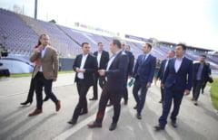 """VIDEO. Timisoara va avea un stadion nou, pe locatia actualului """"Dan Paltinisanu""""! Ministrul Dezvoltarii Regionale promite o arena moderna, cu banii CNI"""