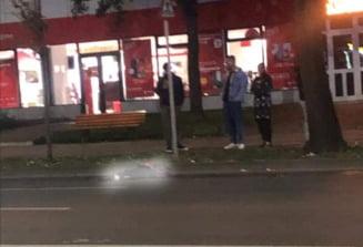 VIDEO Accident mortal pe Independentei, noaptea trecuta. Pieton rupt in doua
