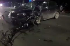 VIDEO Accident teribil in Floresti. O soferita care a adormit la volan s-a izbit frontal cu masina de un autoturism care circula regulamentar